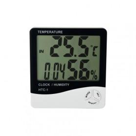 Hygrometer with clock