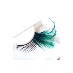 MYLASHES Strip lashes - Feathers Green