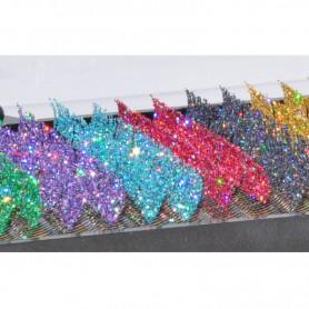 Hologram Glitter C-curl