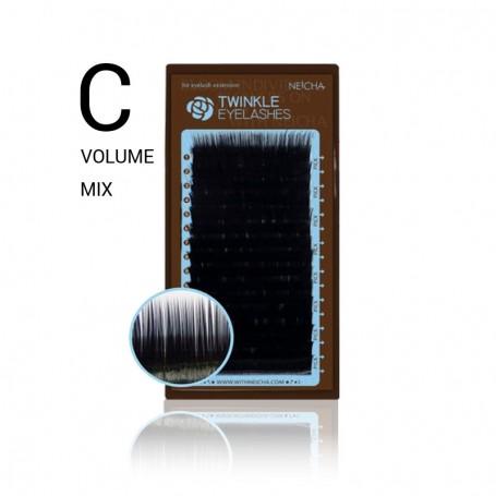 Neicha Twinkle Volume C-krul MIX