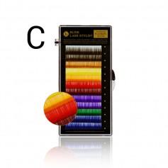 Blink Rainbow Lash C-krul - diverse kleuren