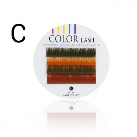 Blink Color Lash - 4 strips (bruin tinten)