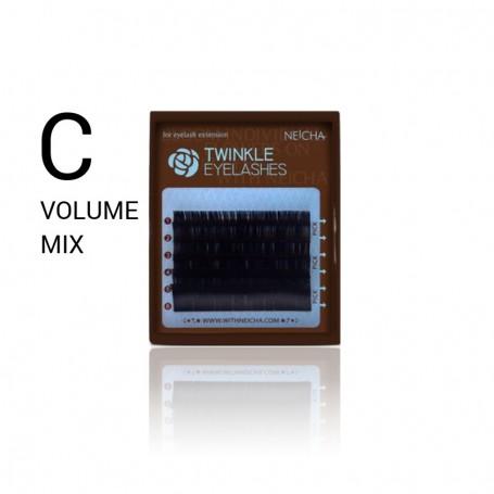 Neicha Twinkle Volume C-krul MINI MIX