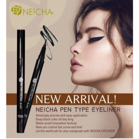Neicha Pen Type Eyeliner - Zwart