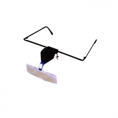 Loepbril met LED licht