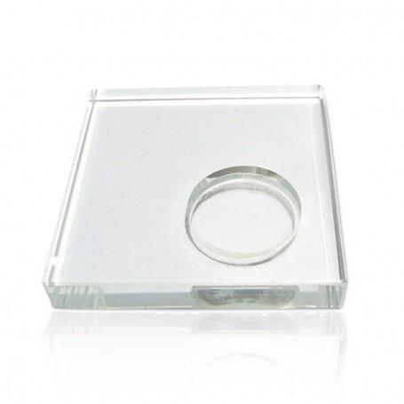 Kristal lijm plaat - klein