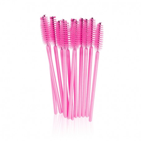 Mascara wand brushes PINK (50pcs)