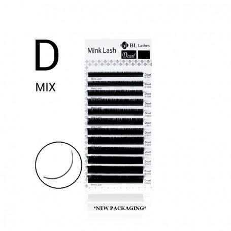 Blink Mink Lash D-krul MIX