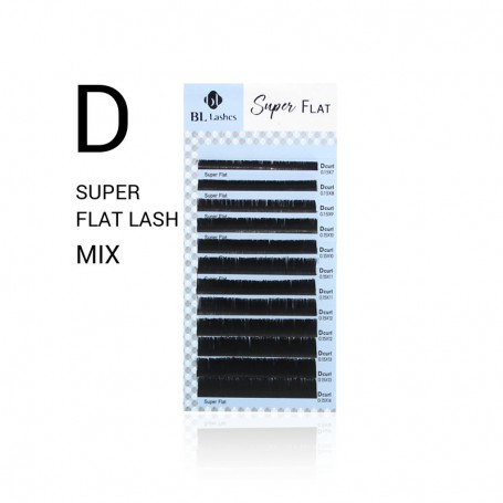 Blink Super Flat Lashes Mat D-krul MIX