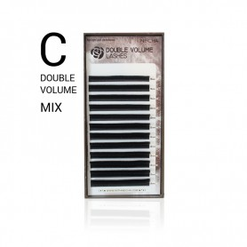 Neicha DOUBLE VOLUME Lashes C-curl MIX