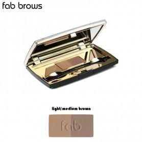 Fab Brows DUO Licht/Midden Bruin