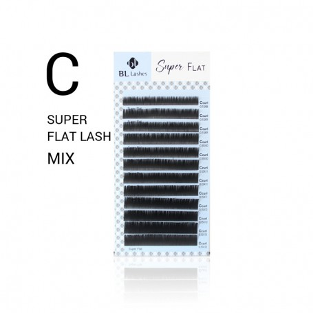 Blink Super Flat Lashes Mat C-krul MIX