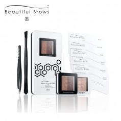 Beautiful Brows Duo Eyebrow Kit - Licht/Midden Bruin