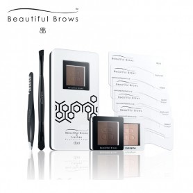 Beautiful Brows Duo Eyebrow Kit - Donker/Chocolade Bruin
