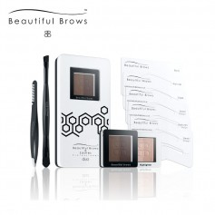 Beautiful Brows Duo Eyebrow Kit - Dark/Chocolate Brown