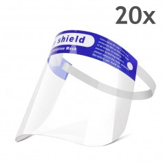 Face Shield with foam - 20 pieces