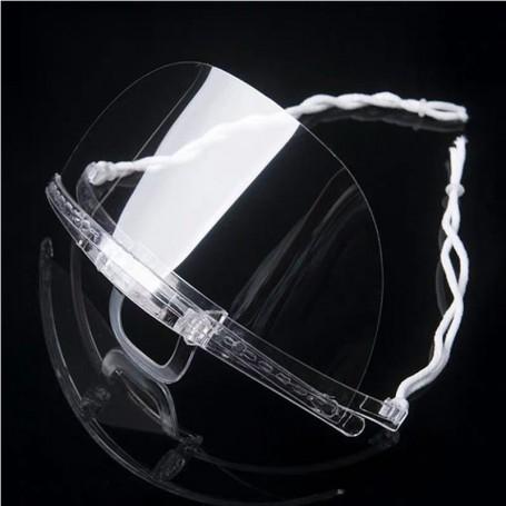 Transparent mouth mask