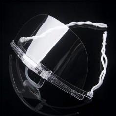 Transparant mondkapje (Transparant) - 5 stuks