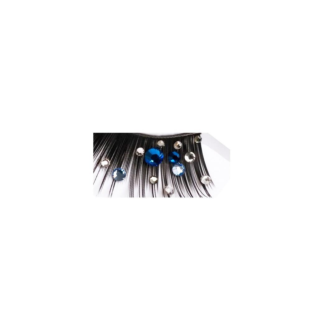 Blink plakwimpers (AWS-002) - Swarovski steentjes