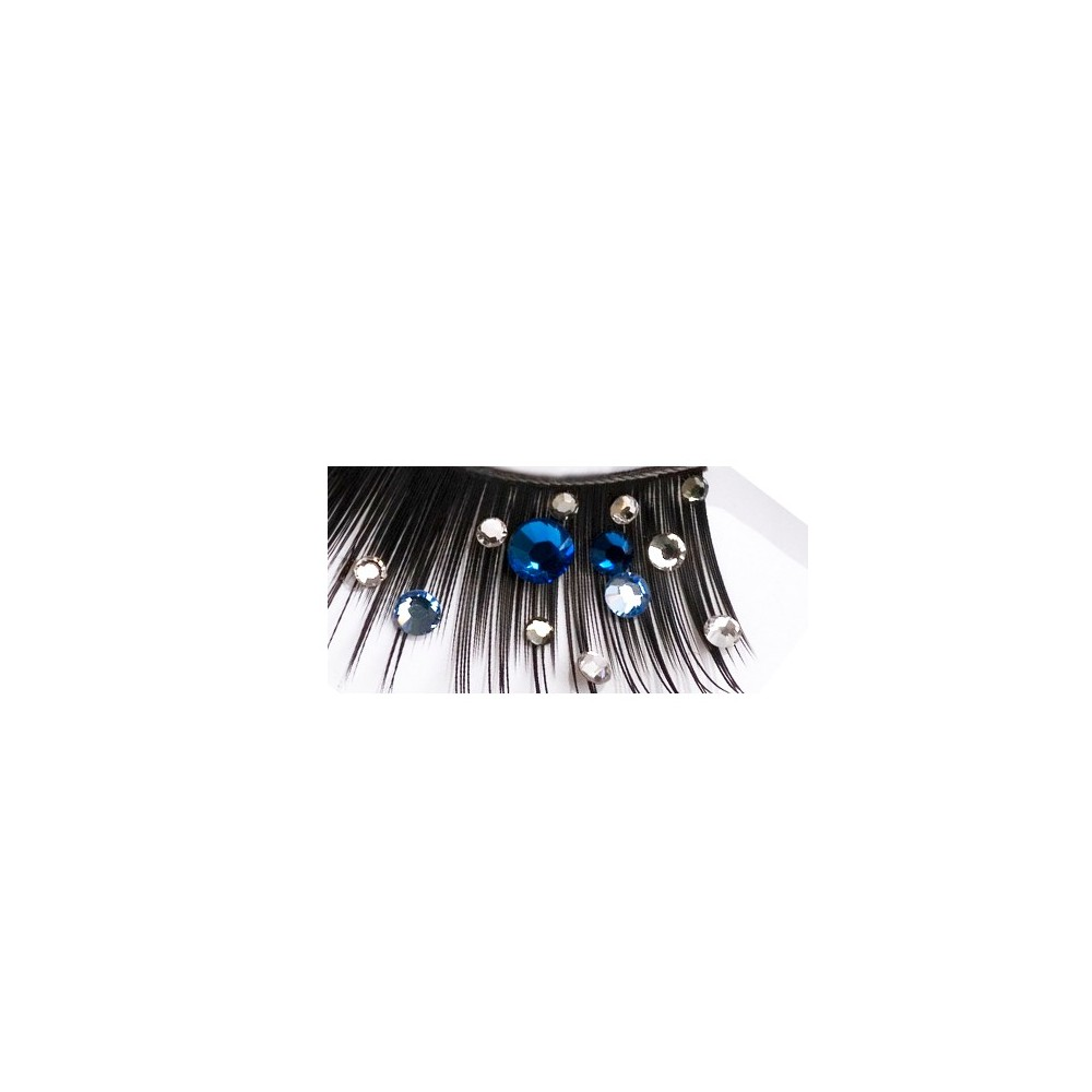 Blink Strip lashes (AWS-002) - Swarovski crystals